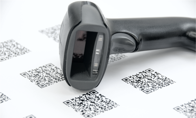 Barcode QR code scanner and NFC reader rental
